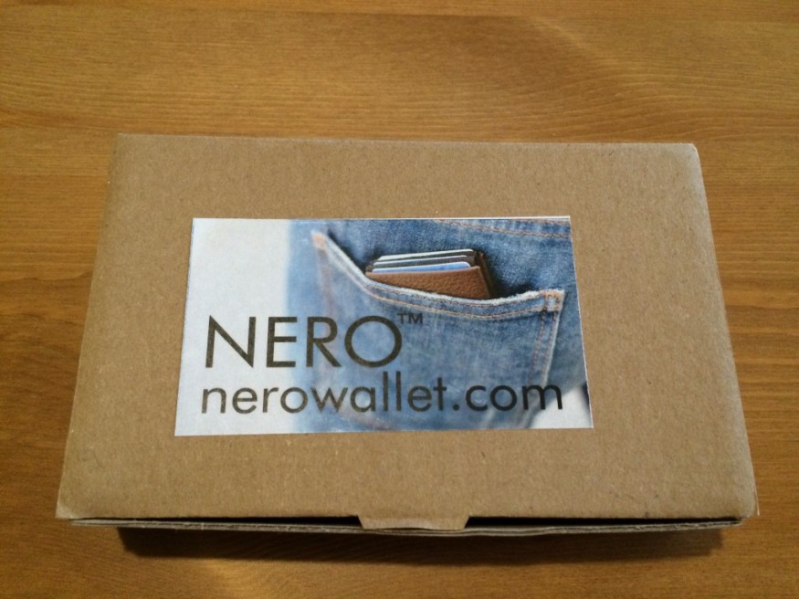 Nero Wallet Unboxing - Picture 1